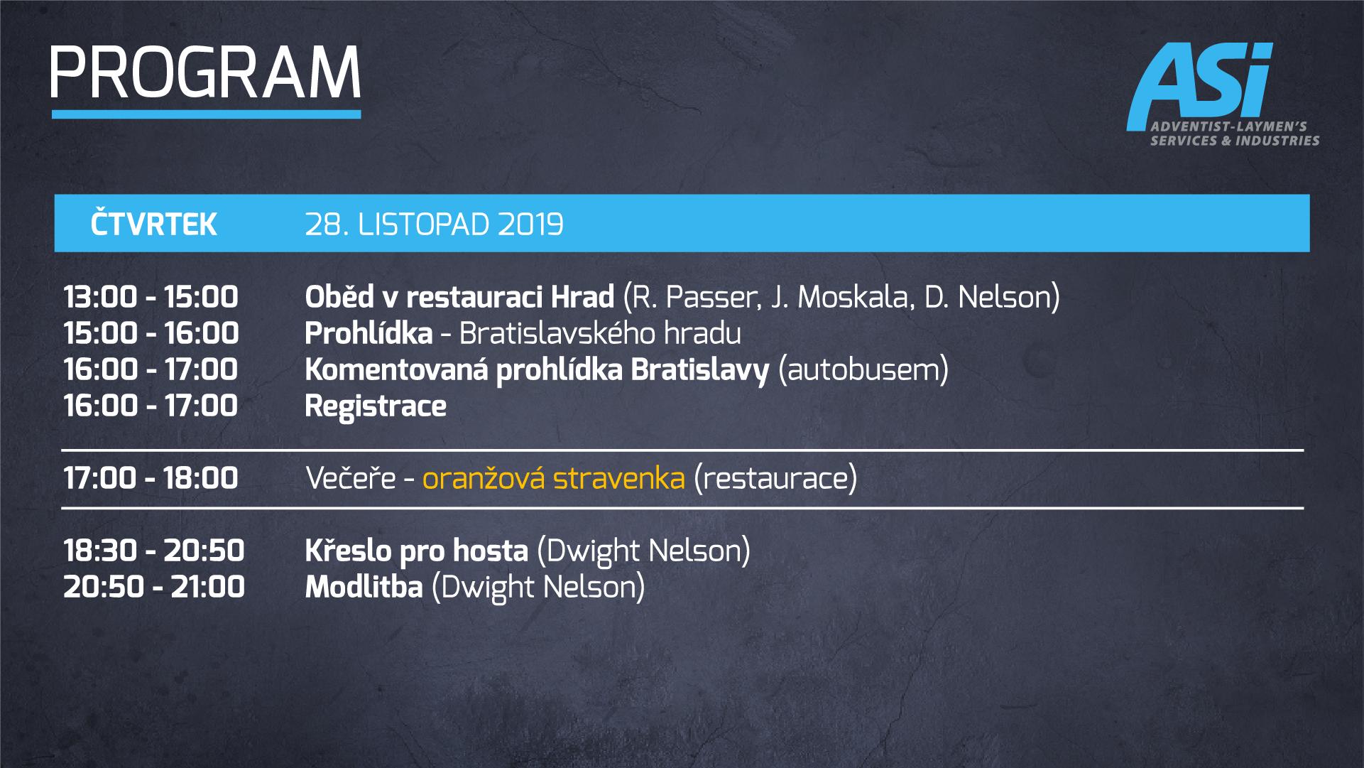 Program ASI Bratislava 1