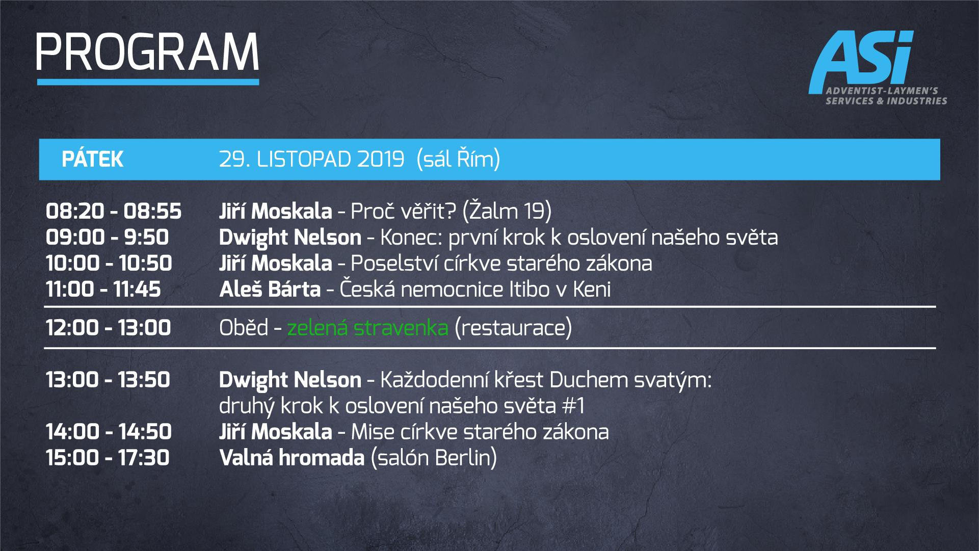 Program ASI Bratislava 2