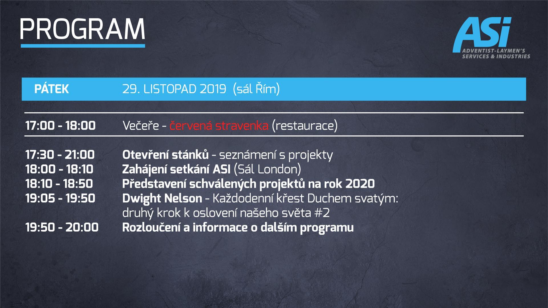 Program ASI Bratislava 3