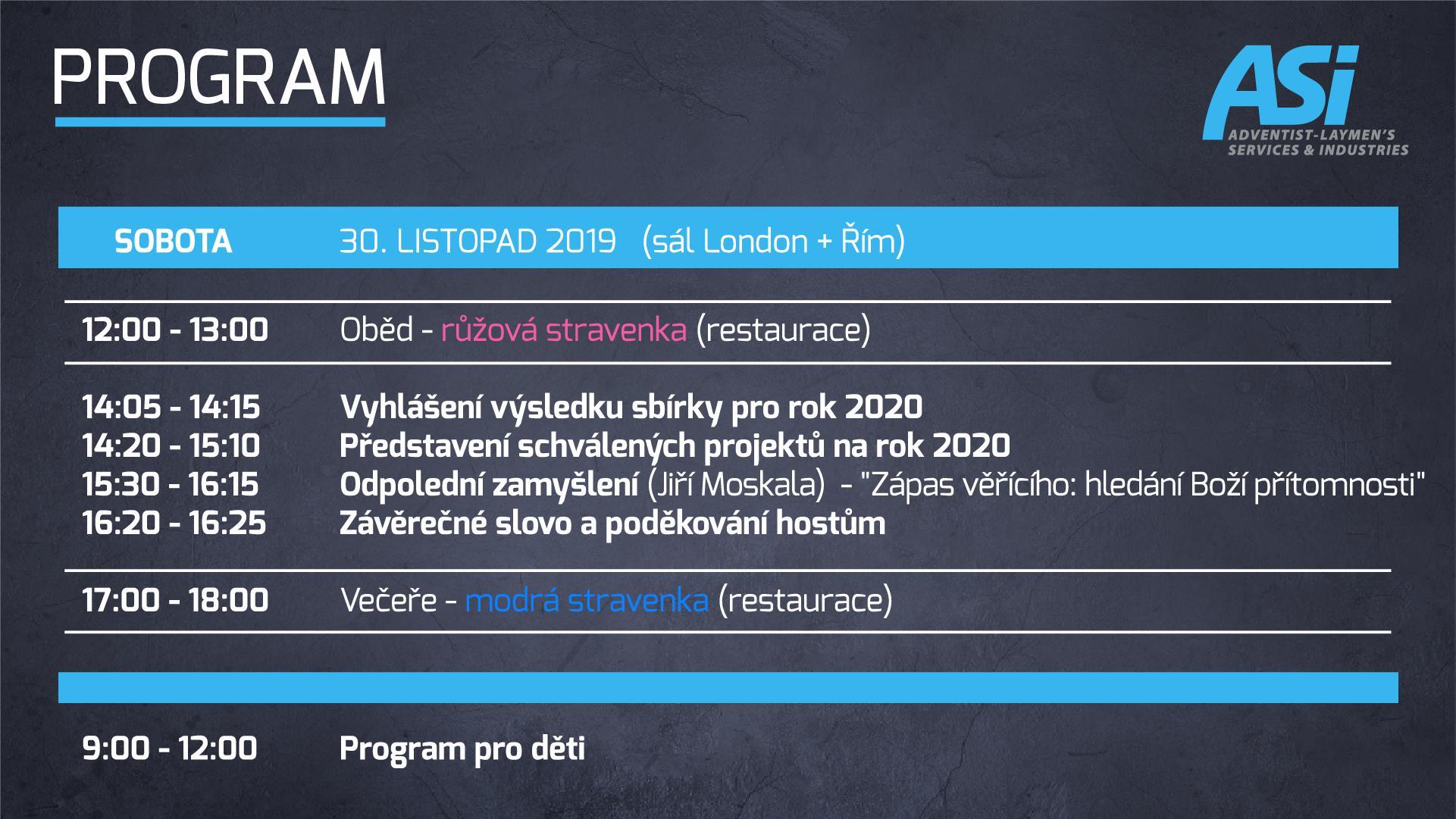 Program ASI Bratislava 5