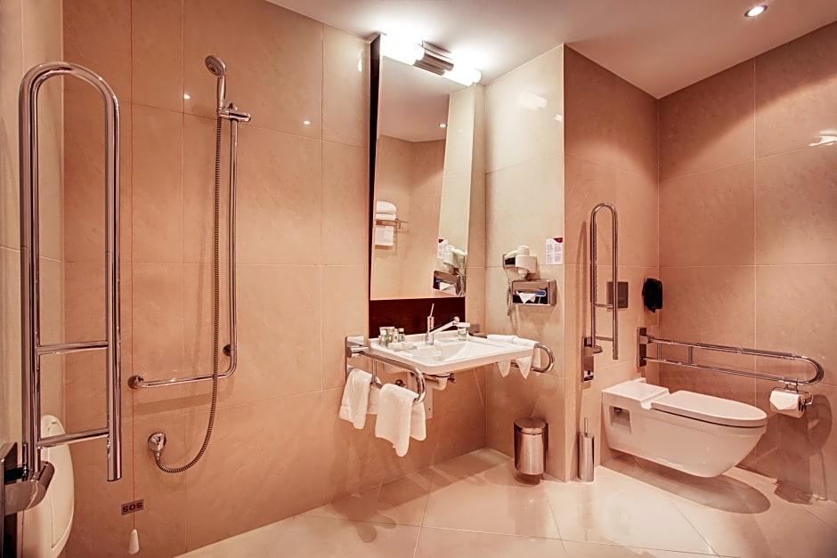 Crowne laza Bratislava, toalety