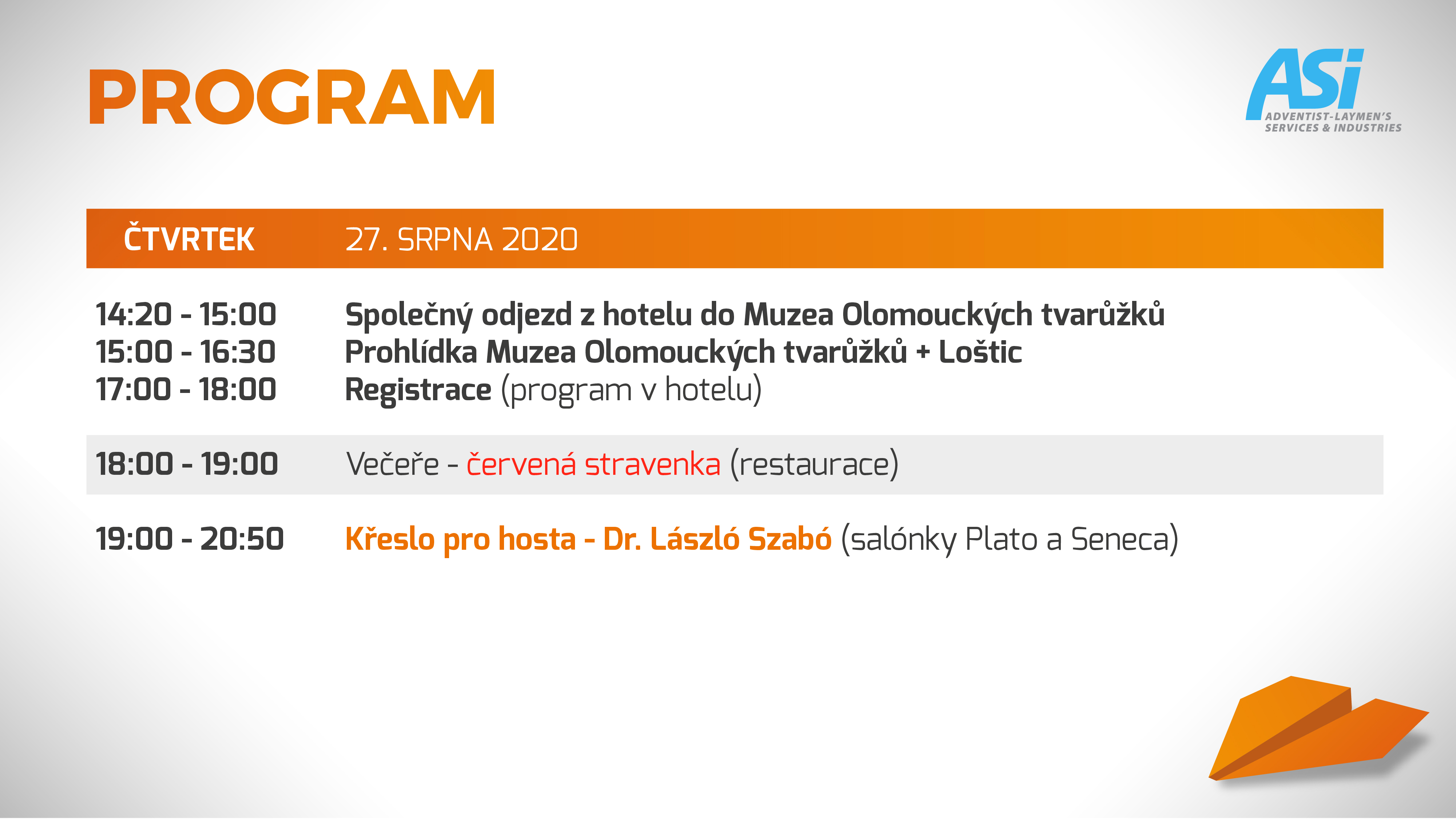 program ASI Olomouc 1