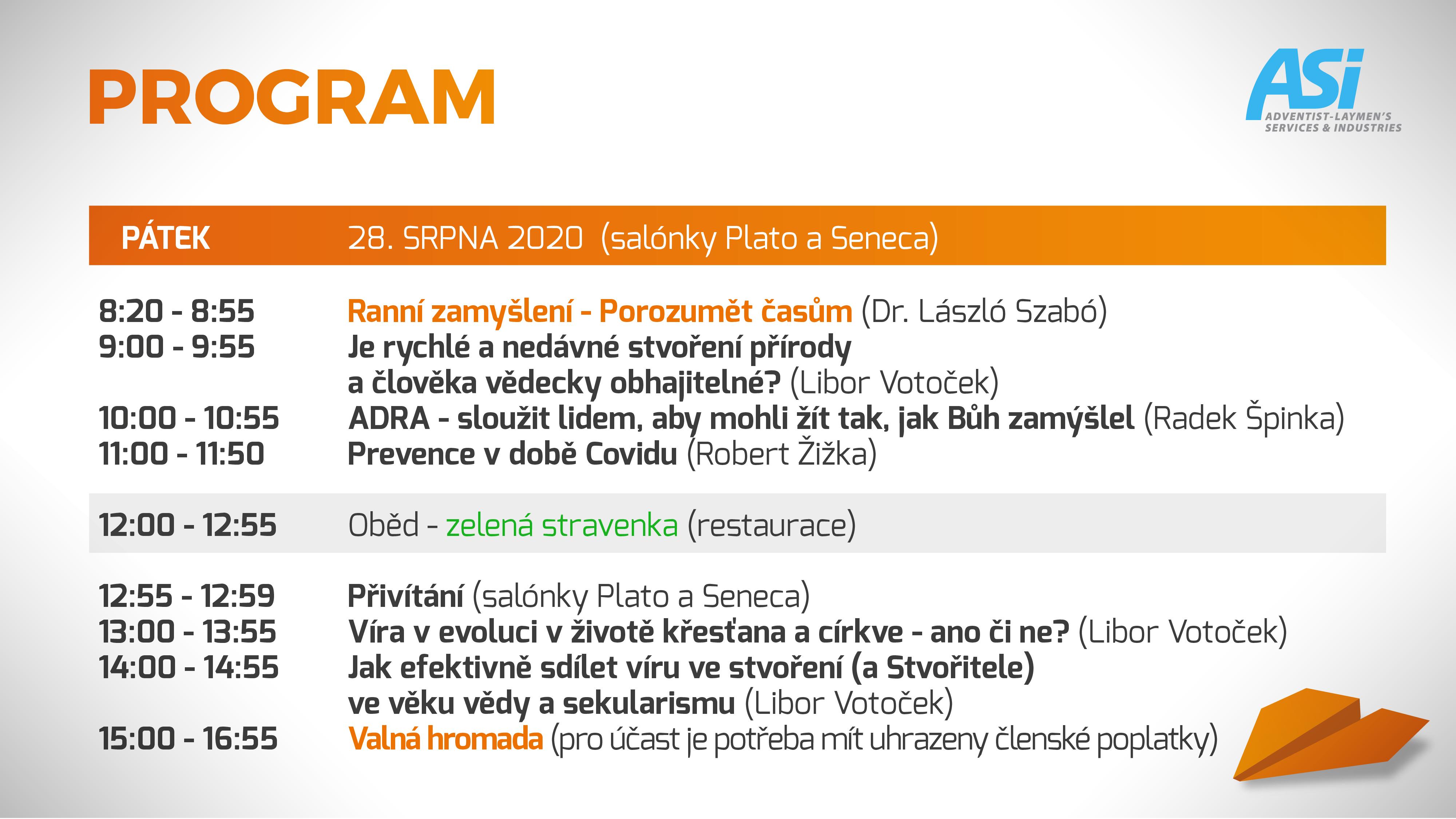 program ASI Olomouc 2