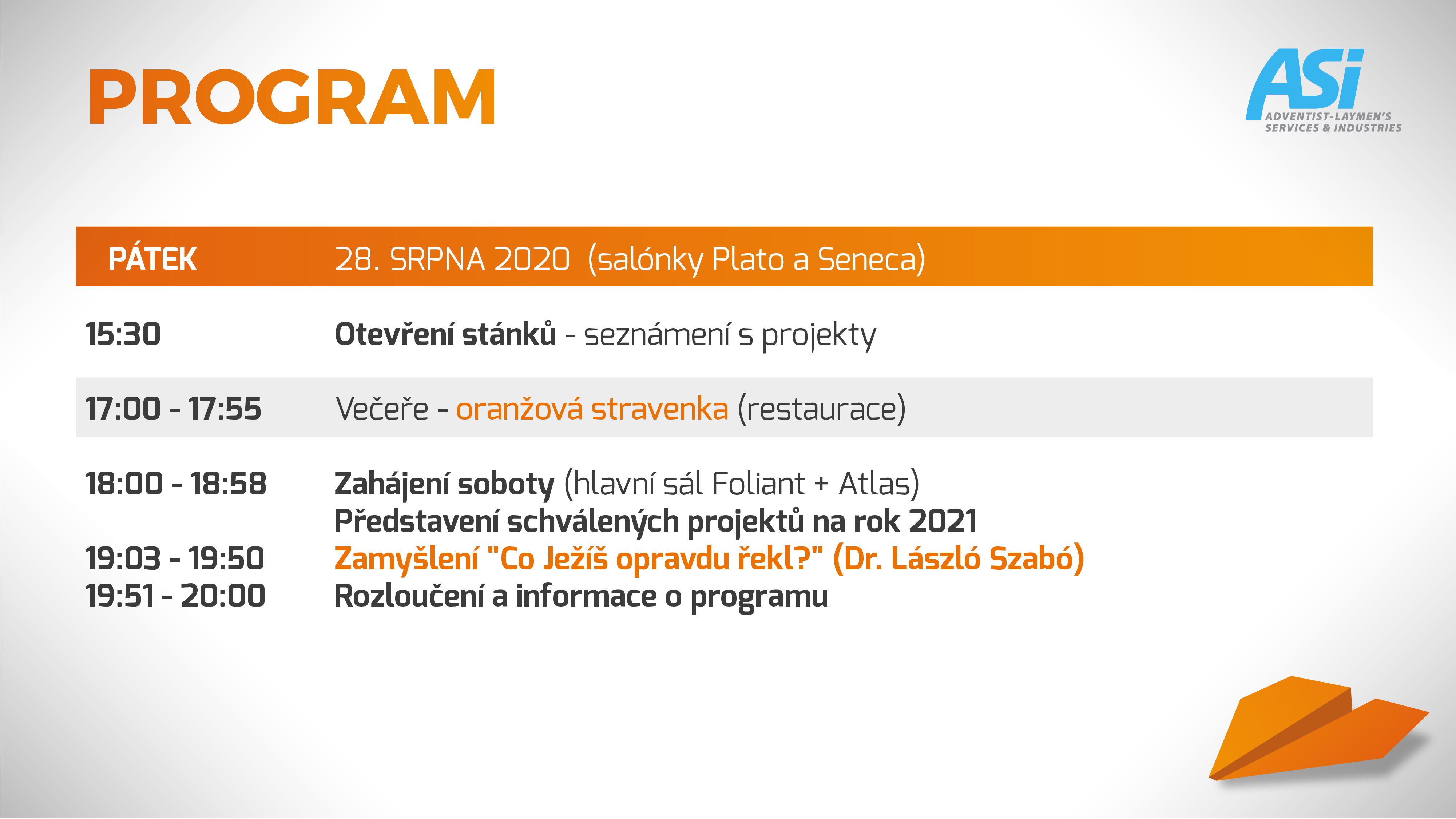 program ASI Olomouc 3