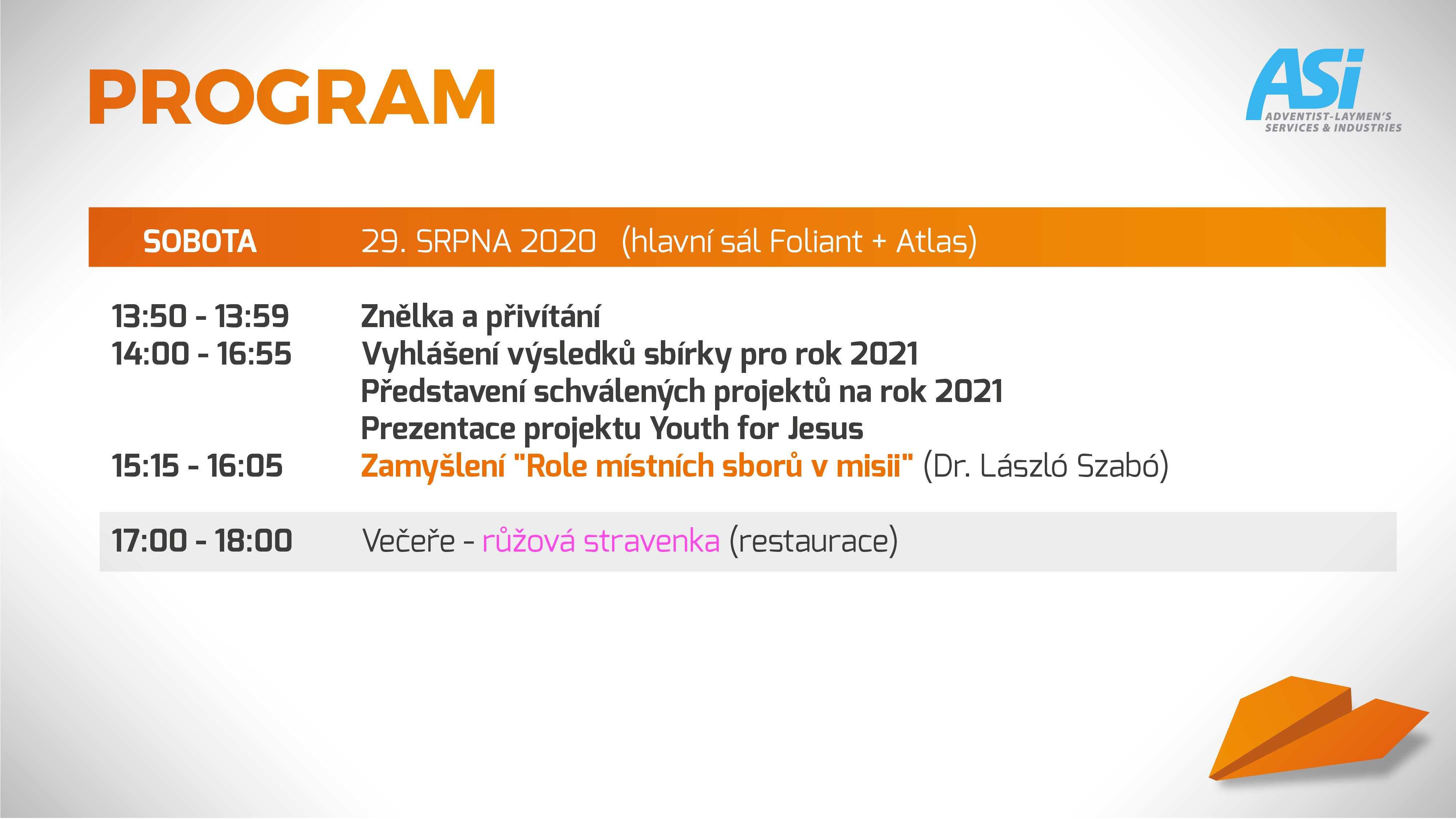 program ASI Olomouc 5