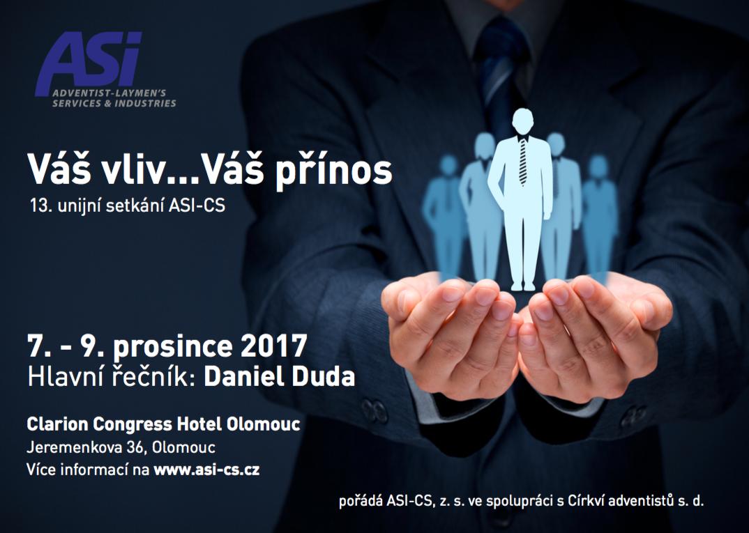 Plakát konference ASI-CS 2017 v Olomouci