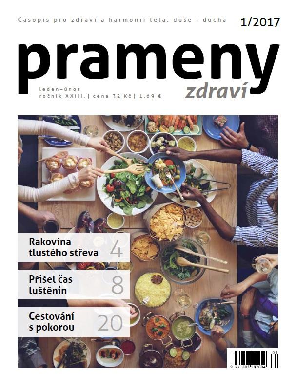 Časopis Prameny zdraví 1/2017