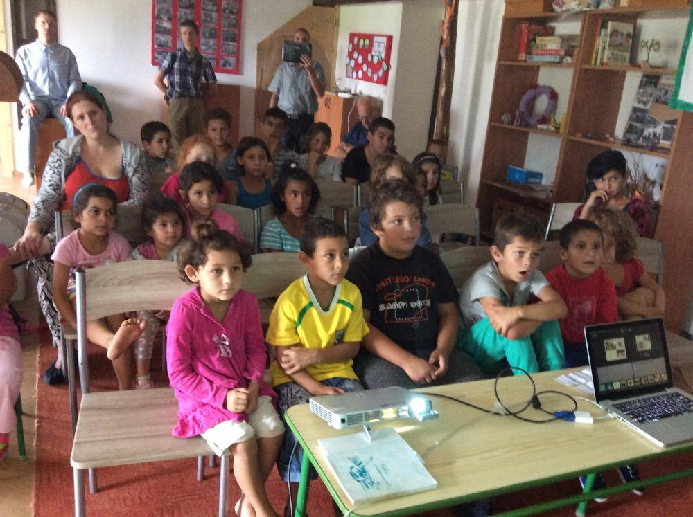 Děti na misijním táboře