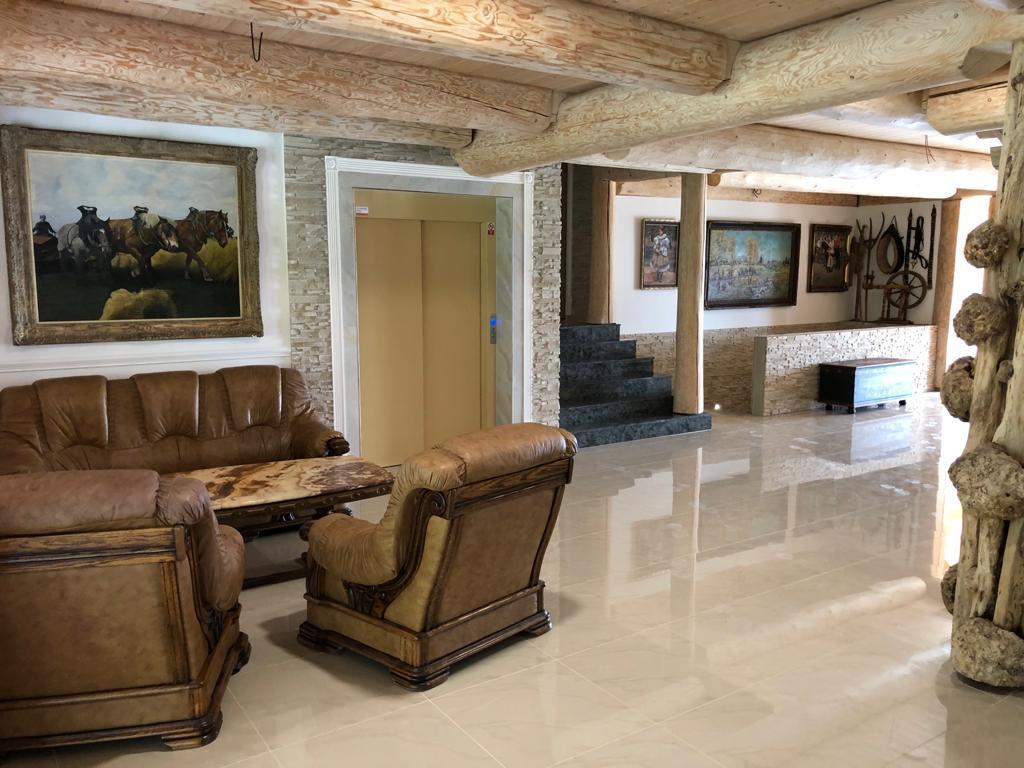 Interiér hotelu Selský dvůr